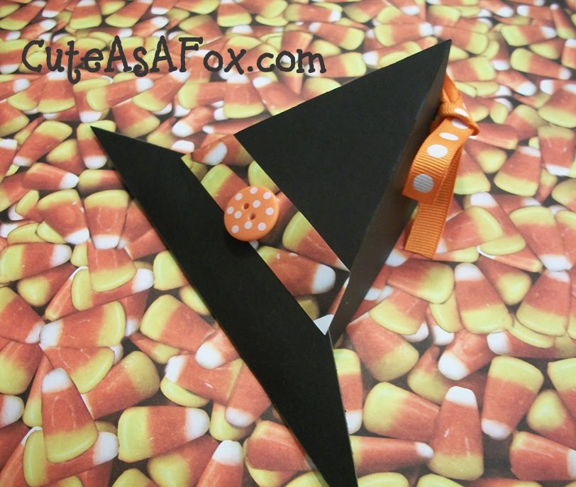 Paper Witch Hat Treat Boxes
