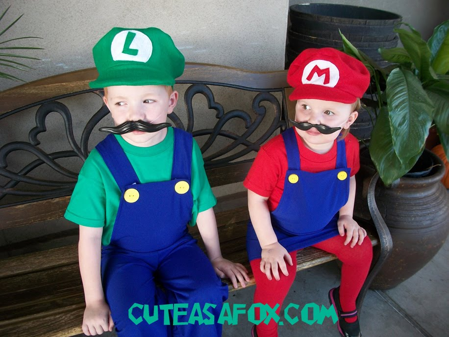 Mario And Luigi Costumes Kids Best Kids Costumes