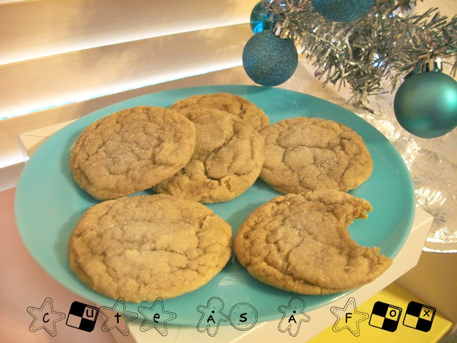 The Incredible Christmas Cookie Party: Soft Ginger Cookies - photo#25