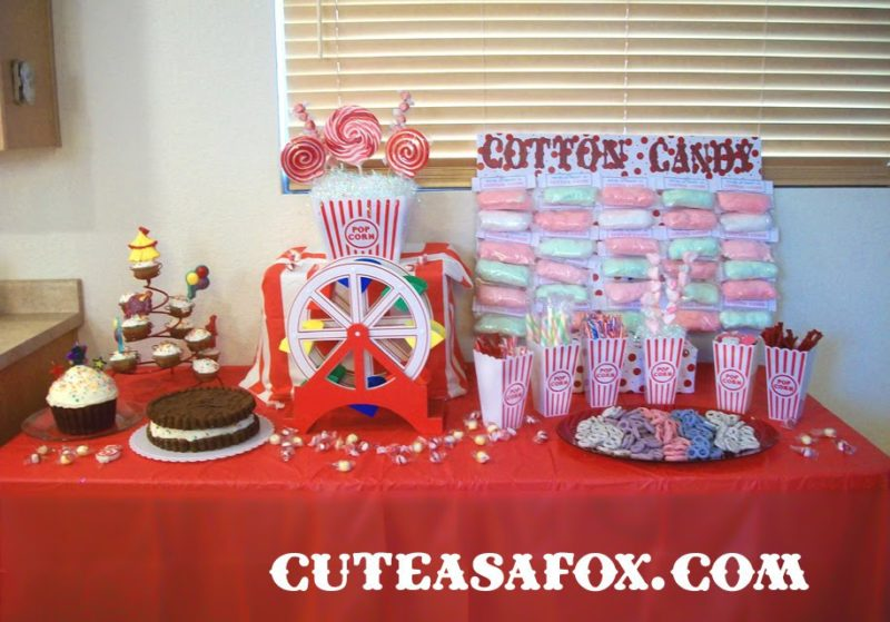 Carnival Party Dessert Table