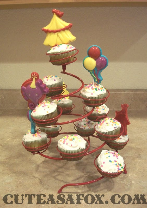 Carnival Party Cupcake Stand