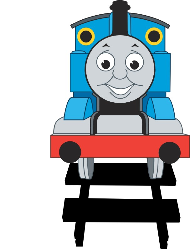Thomas paper piecing for Thomas the tank engine face template