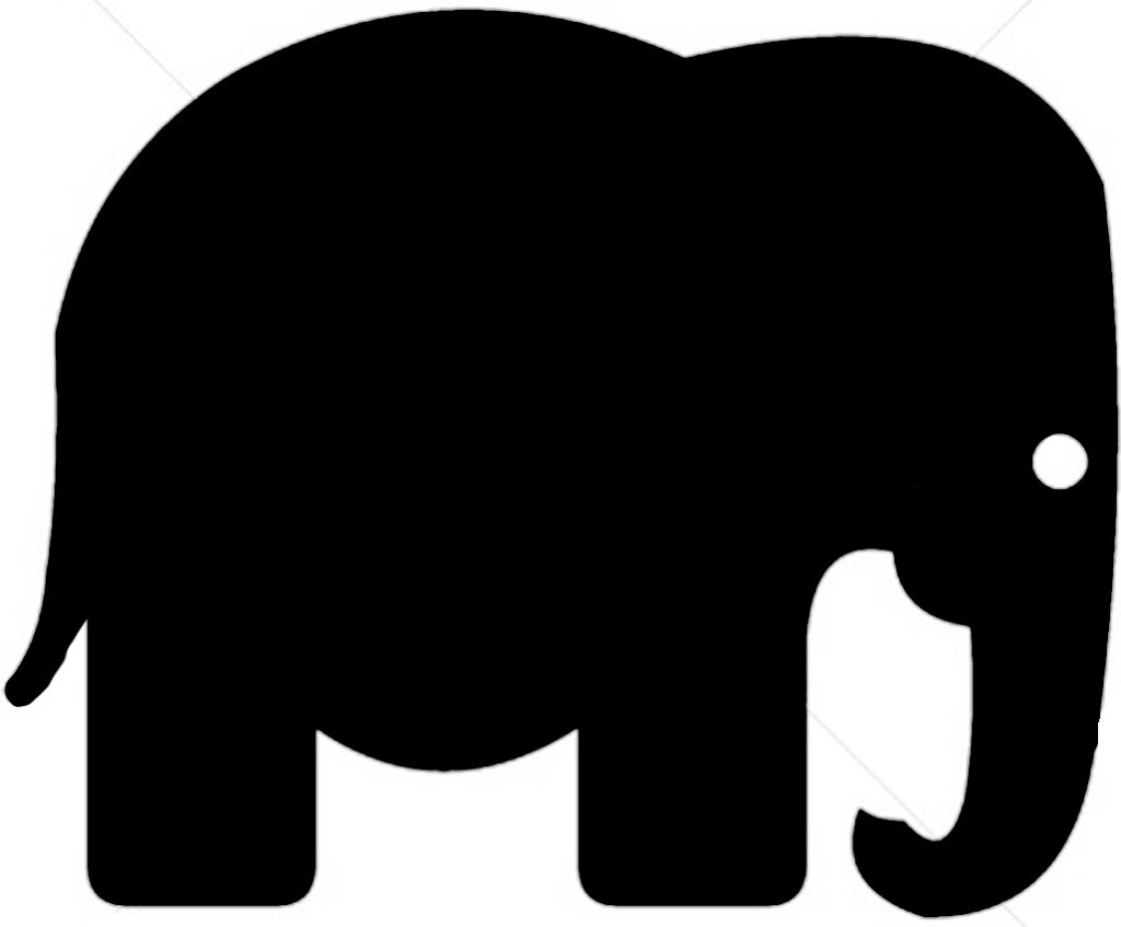 Elephant silhouette - photo#15