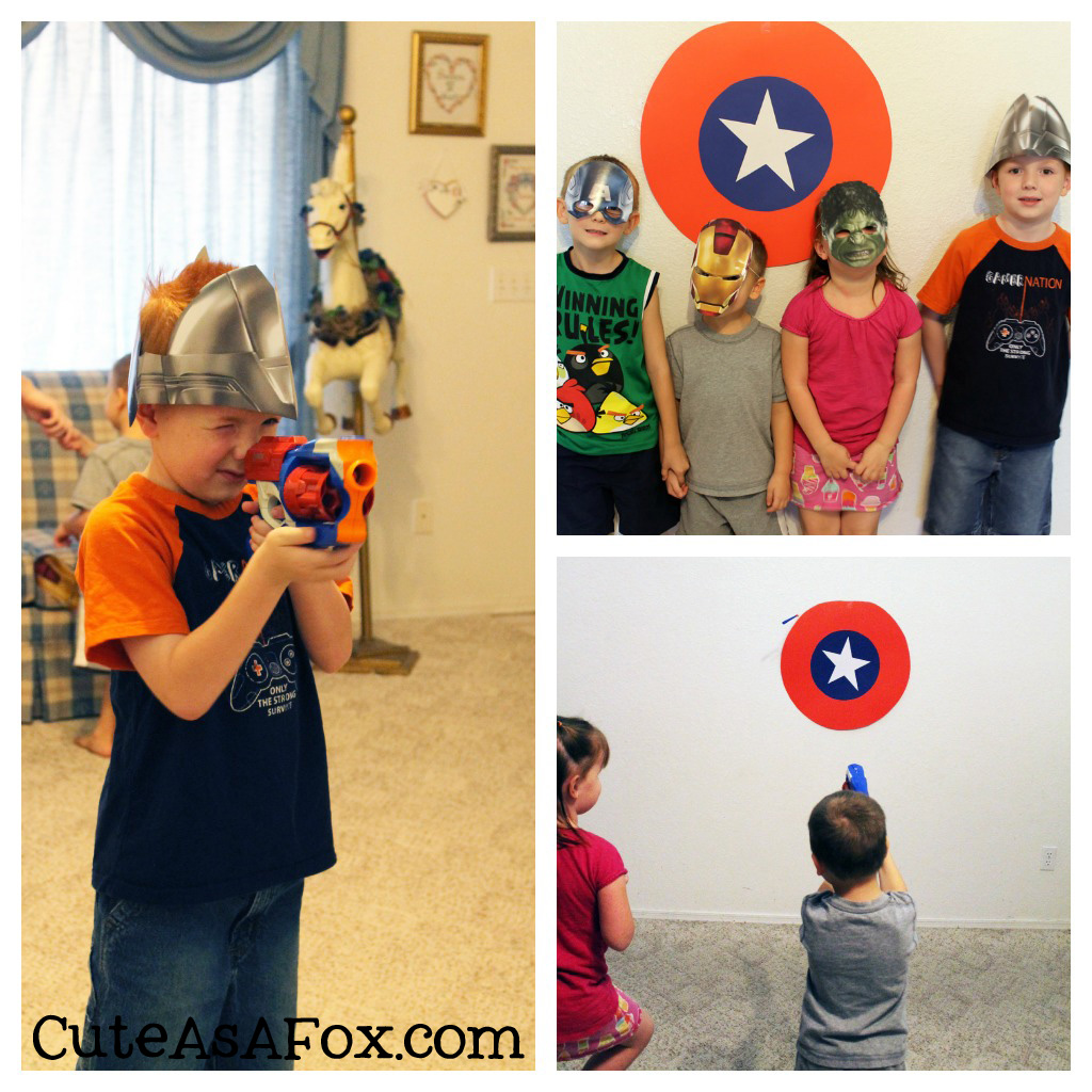 Marvel Avenger's themed Party