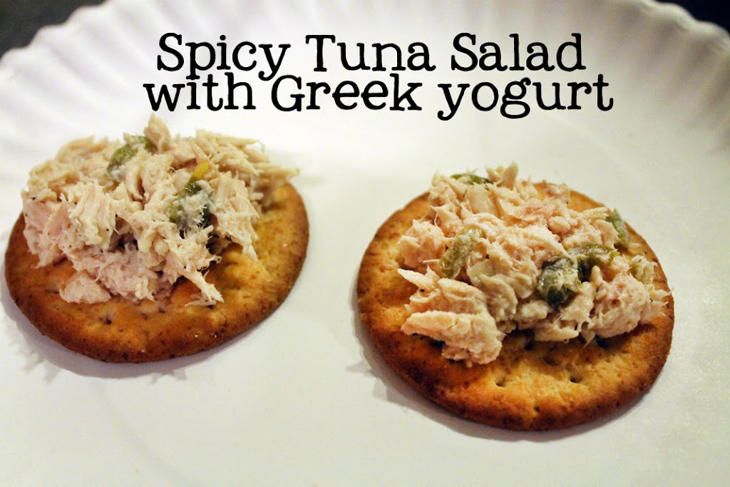 Spicy Tuna Salad with Greek yogurt taste test comparison