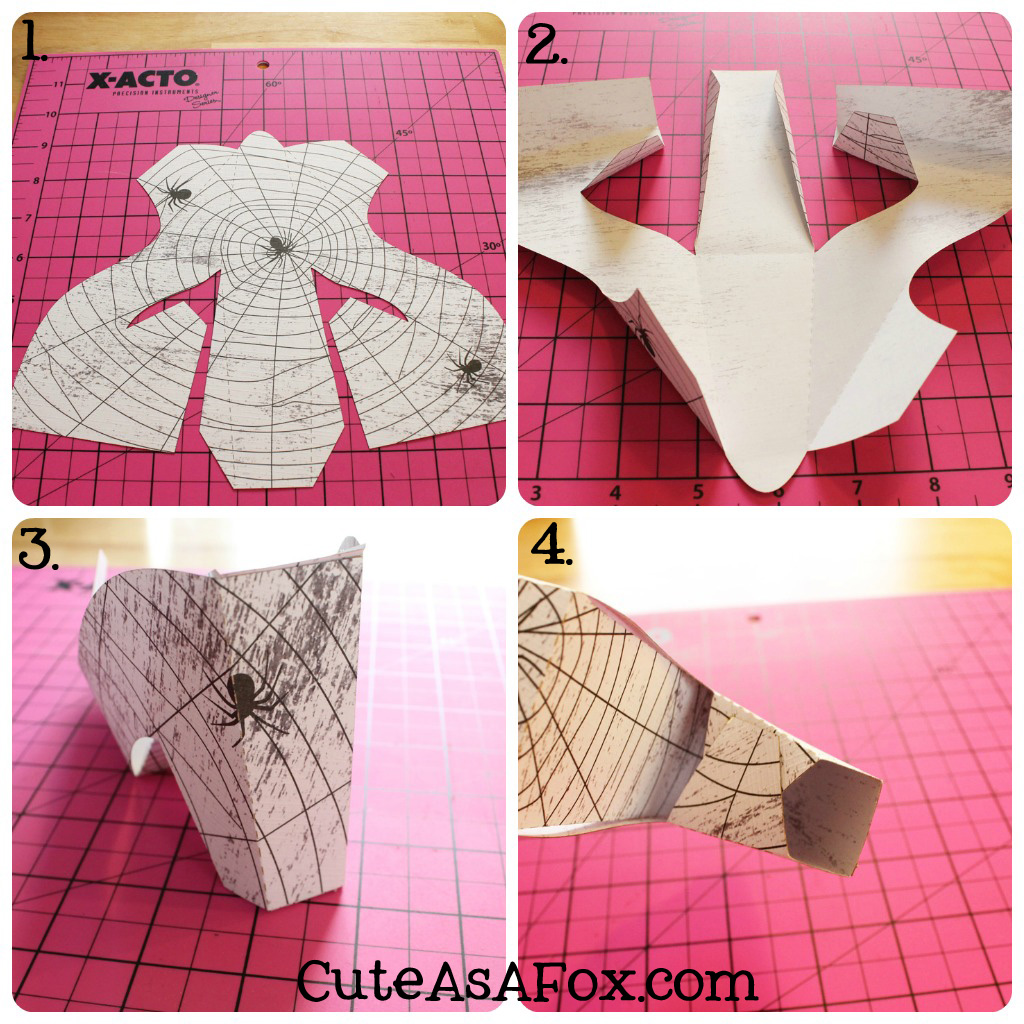 how to make paper shoes templates - witch shoes oreo treat
