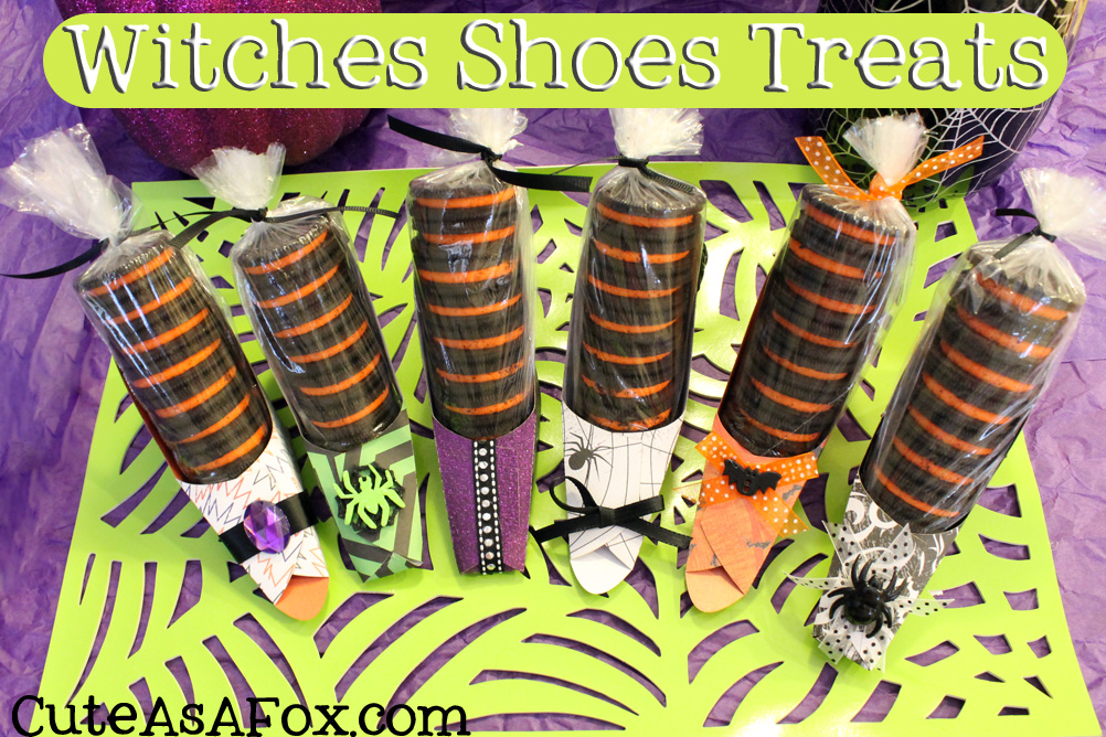 Witch Shoes Oreo Treat