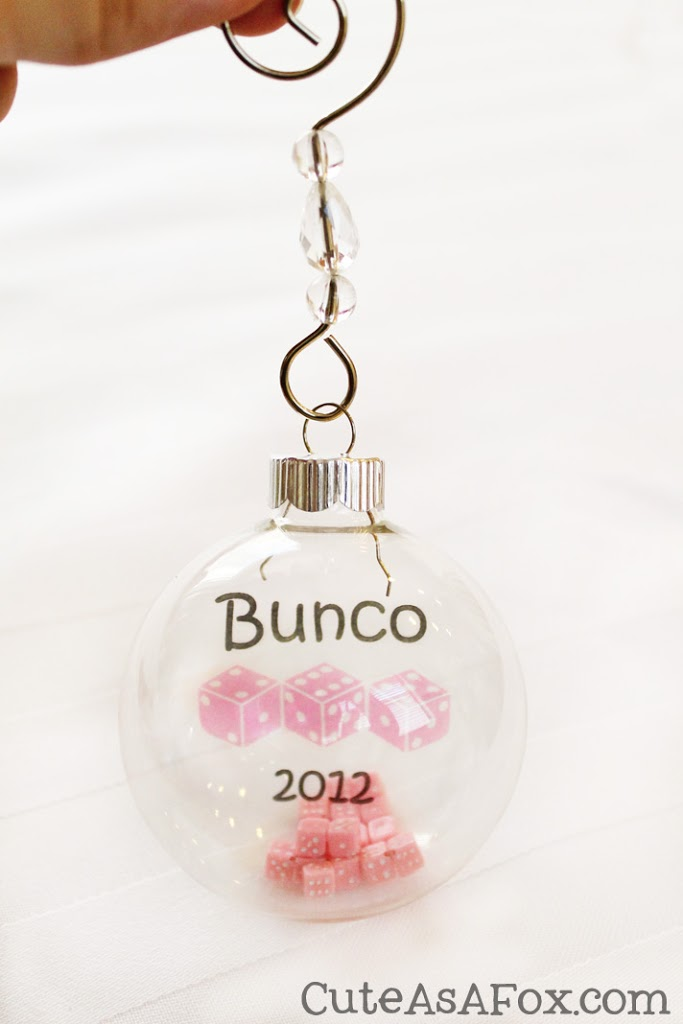 Bunco Christmas Party Ideas Part - 35: Cute As A Fox