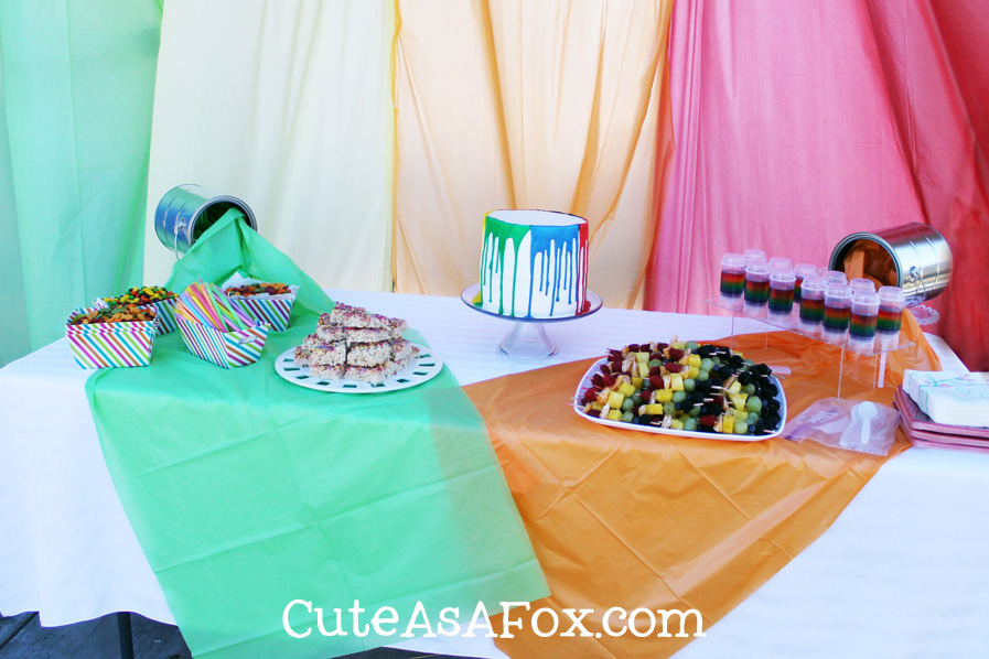 Art Party: Rainbow Food