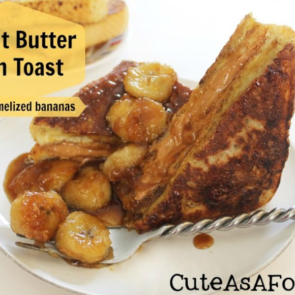 French Toast With Caramelized Bananas Recipe — Dishmaps