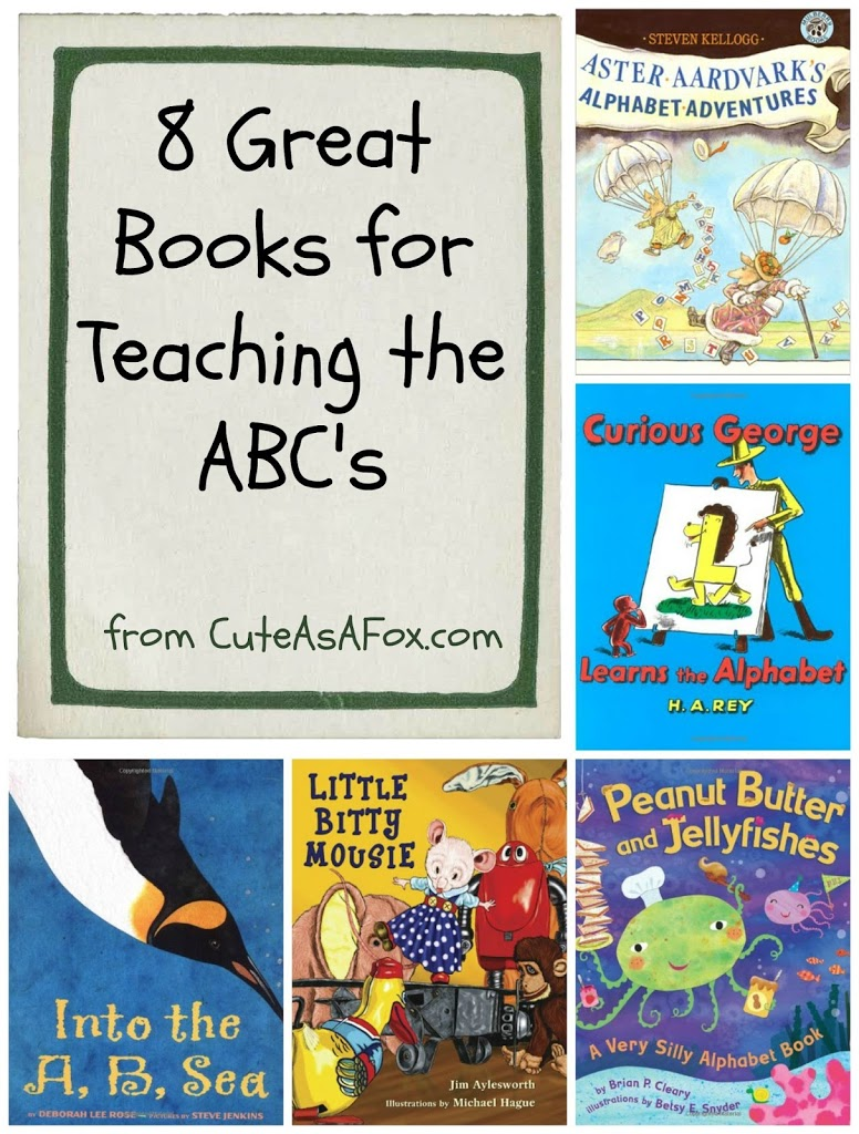 Great Books for Teaching the ABCs
