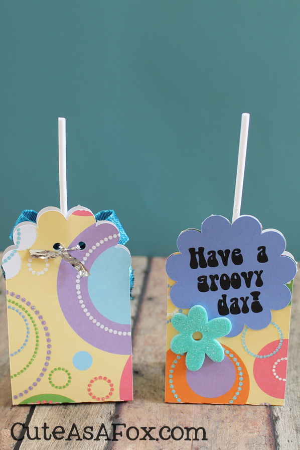 how to make a lollipop holder
