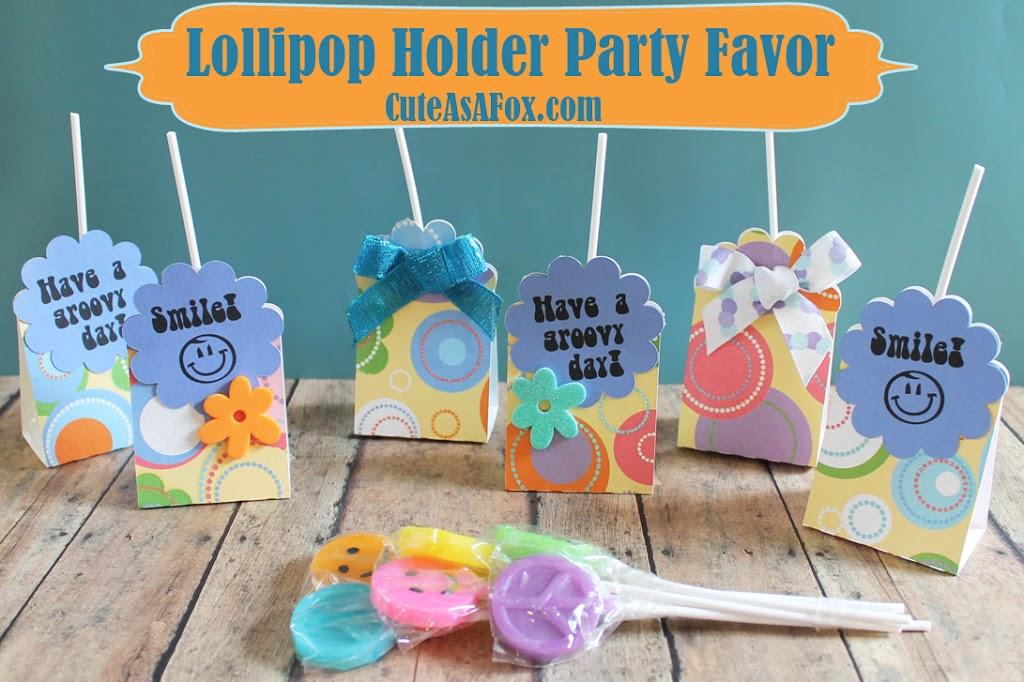 Scalloped Lollipop Holder Tutorial with Template