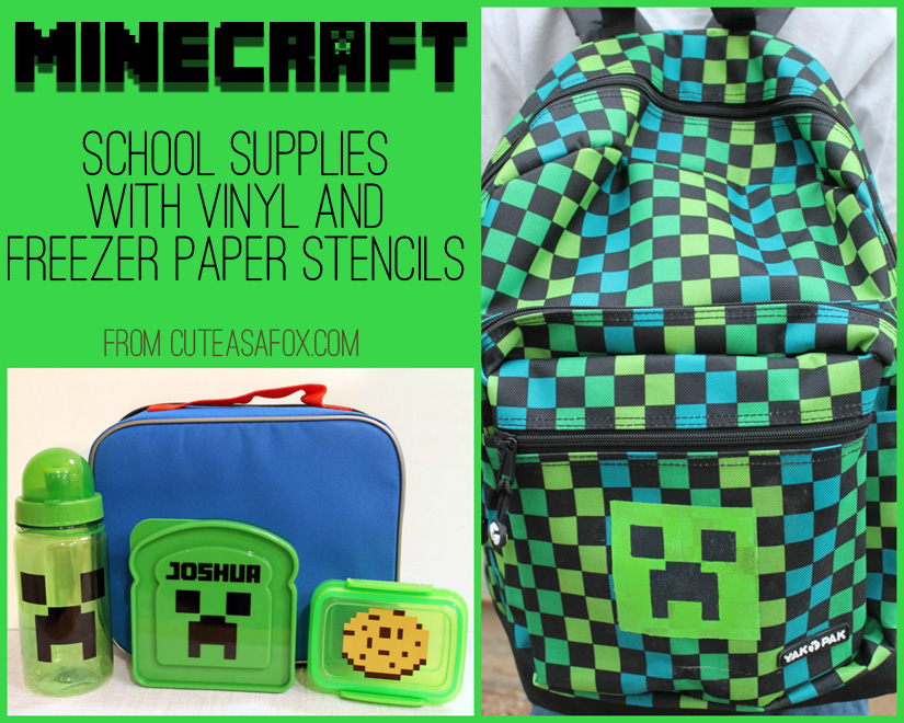 Minecraft Back to School Accessories