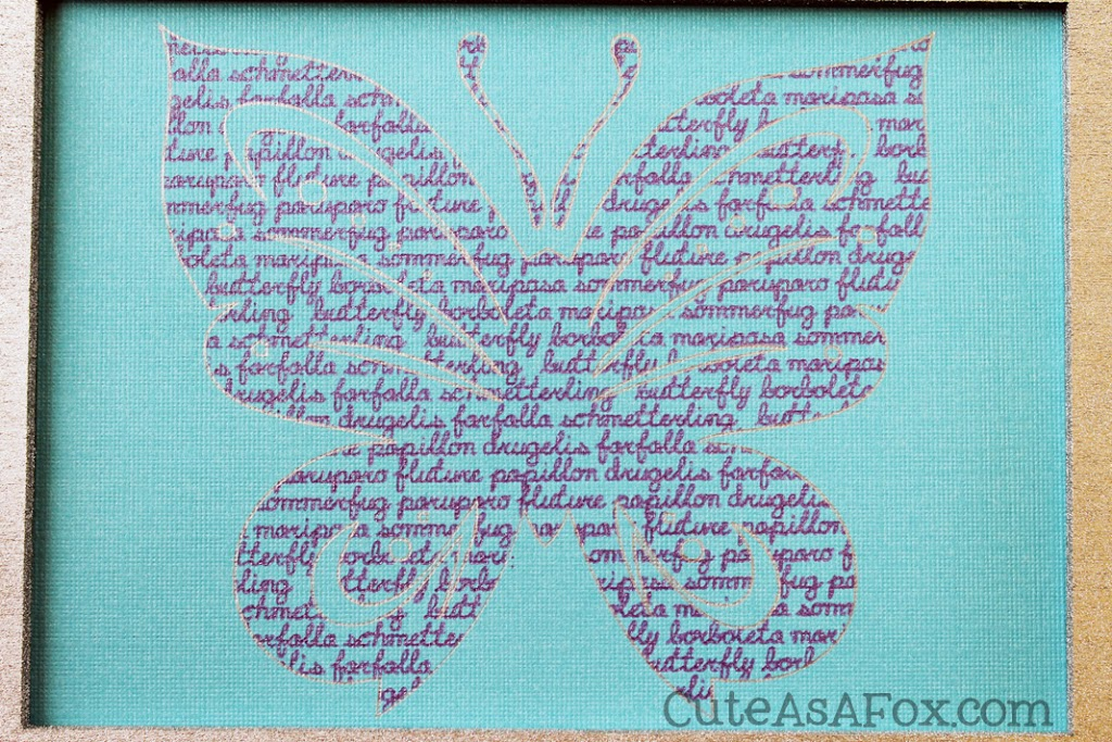 Butterfly Word Art Amp Silhouette Giveaway