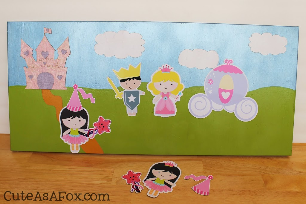 Princess Magnet Playset- Silhouette Promo & Giveaway