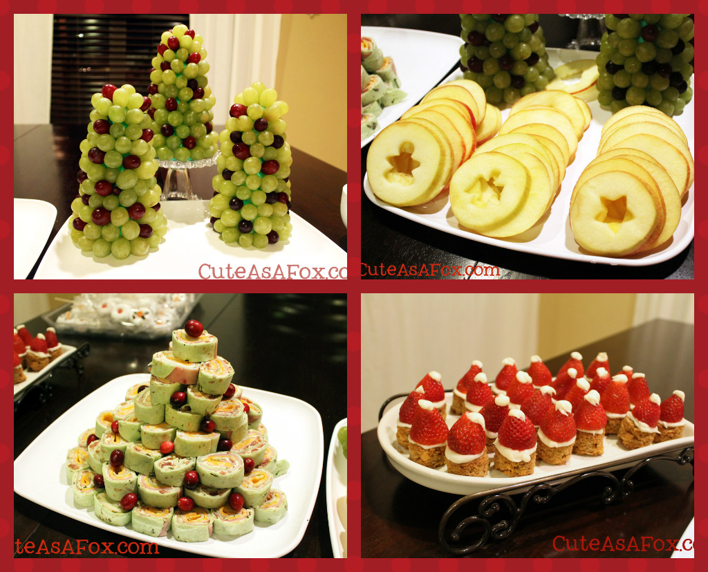 Christmas Theme Dinner - Wow your guests with cute and fun Christmas food.