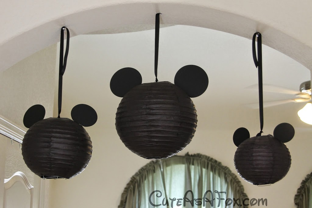 Mickey Mouse Themed Dinner