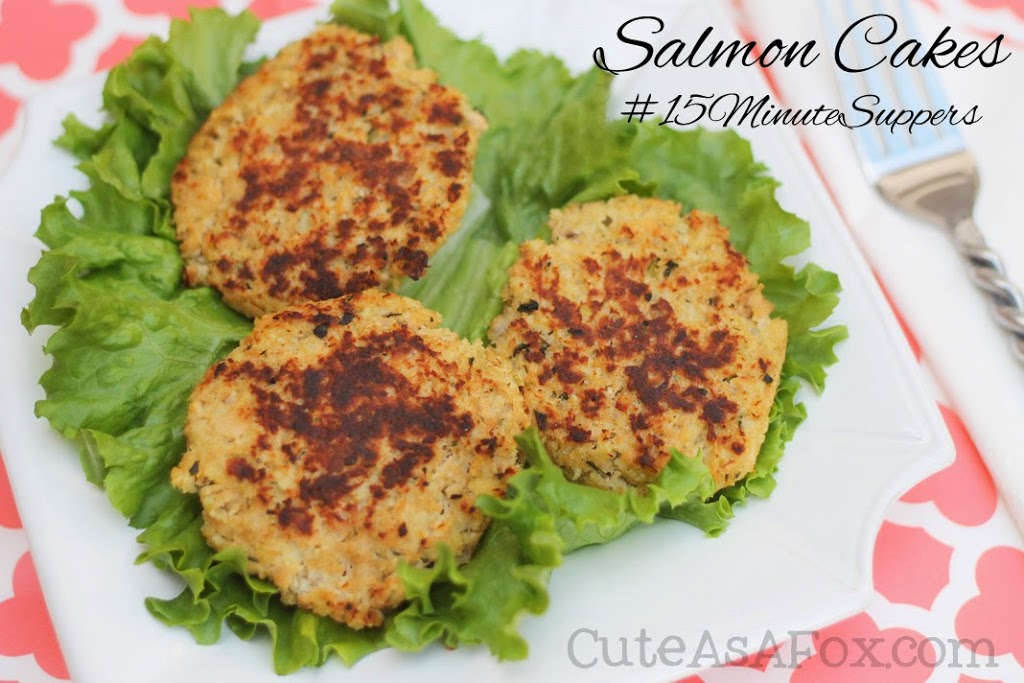 Salmon Cakes – #15MinuteSuppers