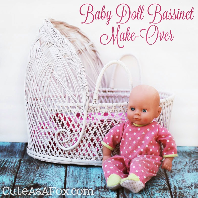 Baby Doll Bassinet Make Over