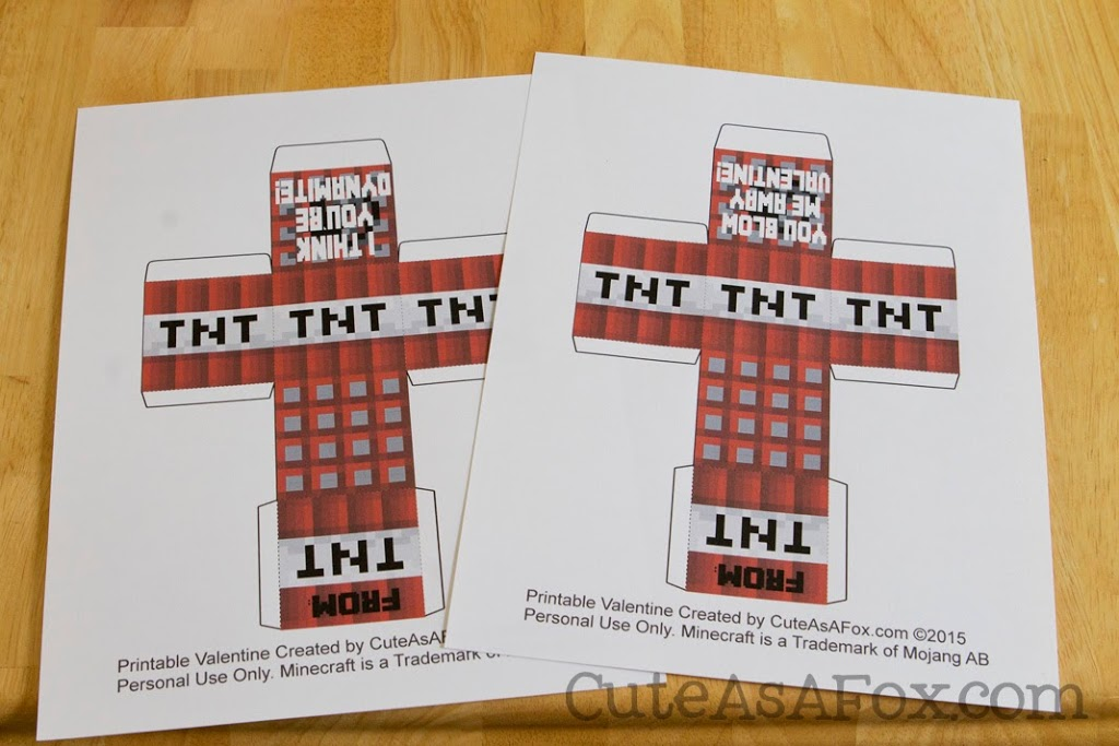 It's just a picture of Zany Minecraft Tnt Printable