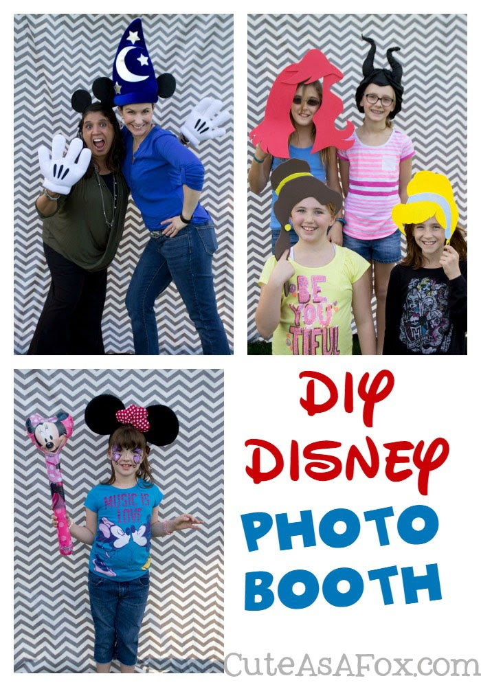 DIY Disney Photo Booth