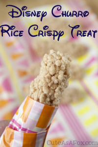 Churro Rice Crispy Treats