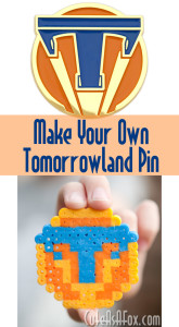 Tomorrowland Review and Perler Bead Pin