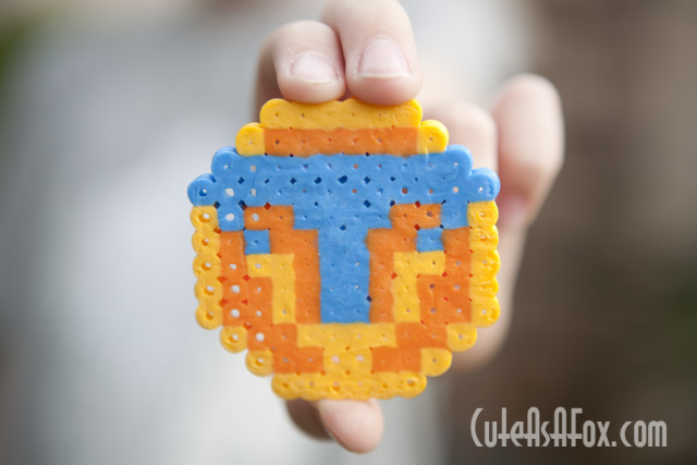 Make your own Tomorrowland Pin with Perler Beads