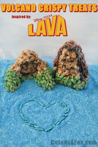 Volcano Crispy Treats – Inspired by Lava