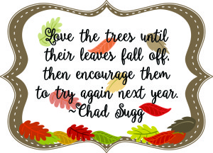 Fall printable quote and GraphicStock challenge