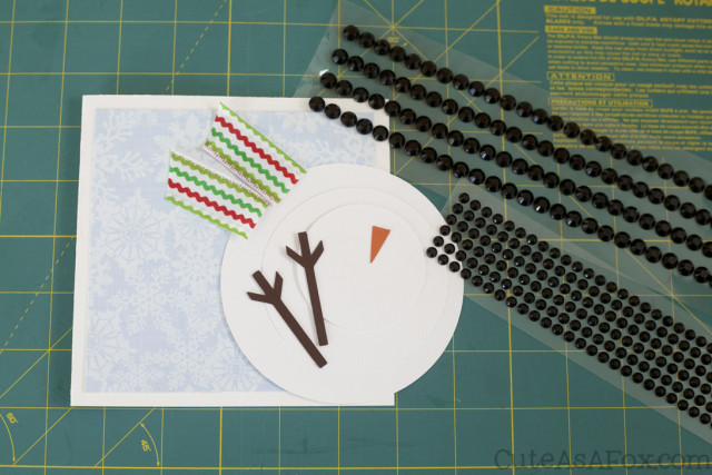 Quick and Easy Snowman Card