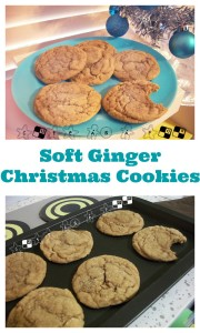 Big Soft Ginger Cookies - Perfect for Christmas
