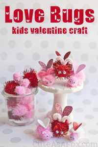 Love Bugs Valentine's Day Kids Craft