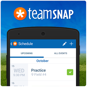 Get your team on track with TeamSnap!