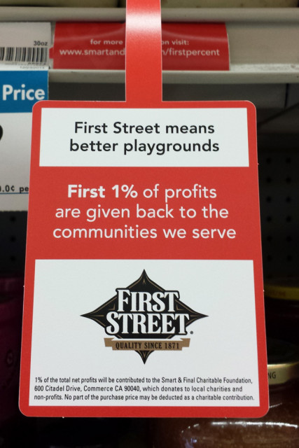 First Street, First Percent. Build a Totchos bar with First Street products from Smart & Final