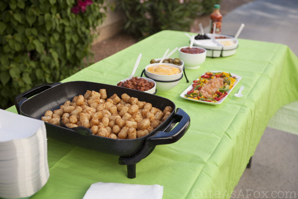 Totchos anyone? 12 Essentials for putting together the perfect totchos bar.