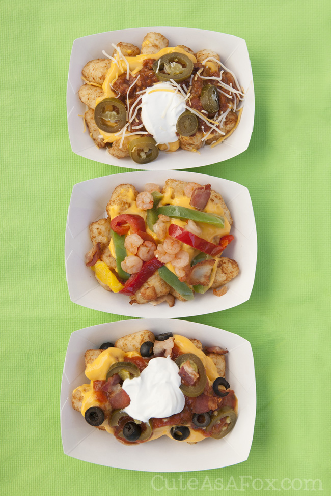 Totchos anyone? 12 Essentials for putting together the perfect totchos bar. Plus our perfect combinations.
