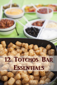12 Totchos Essentials to create the perfect Totchos Bar