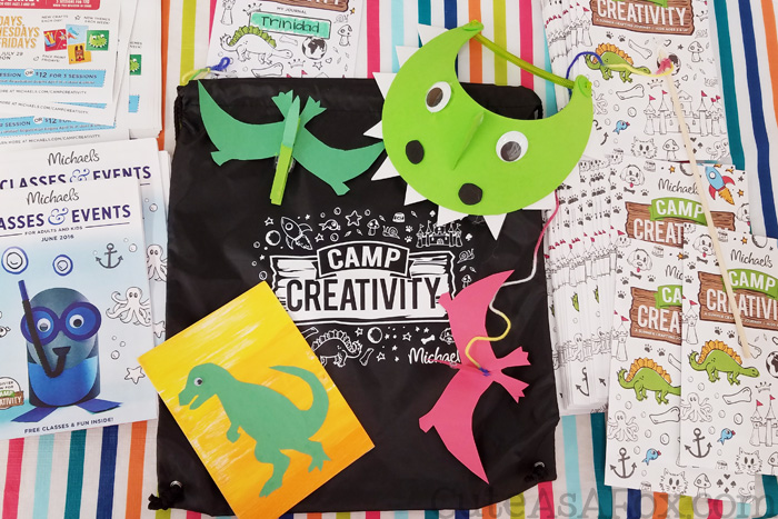 Do something interesting with your summer and take the kids to Michaels Camp Creativity.