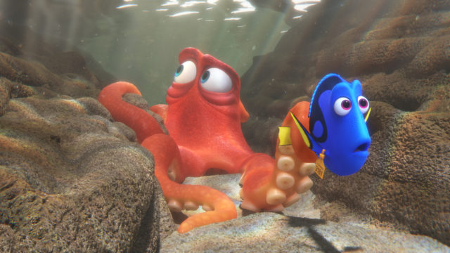 Dory and Hank the Septopus
