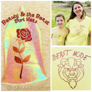 Beauty and the Beast shirts