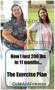My Exercise Plan for Losing 200 lbs