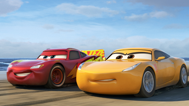 Cars 3 Cruz Ramirez and Lightning McQueen
