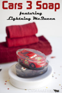 Cars 3: Lightning McQueen Soap