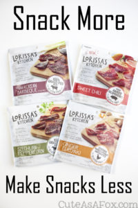 Snack Smart, Snack Healthy with Lorissa's Kitchen
