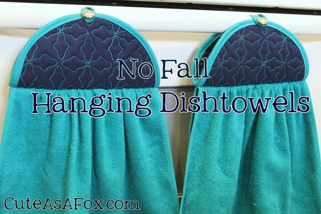 Hanging Kitchen Towel Pattern Tutorial Allsewing Today I Am Going To Show You Some Cute Dishtowels That Won T Fall Down The
