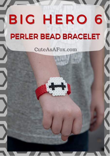 Big Hero 6 Perler Bracelet by Cute as a Fox